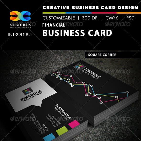 Financial Business Card