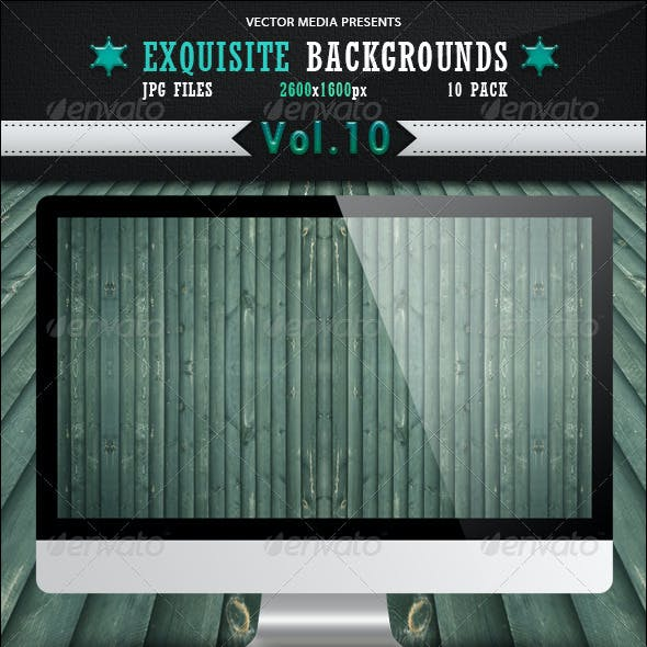 Exquisite Backgrounds - Vol 10