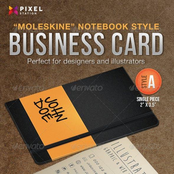 Notebook Business Card