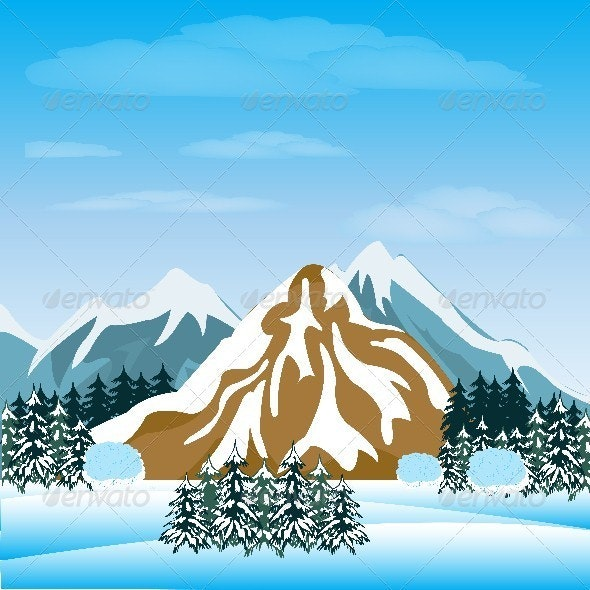 Winter in mountain - Landscapes Nature