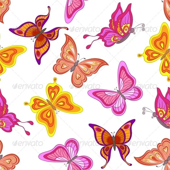 Background Butterflies
