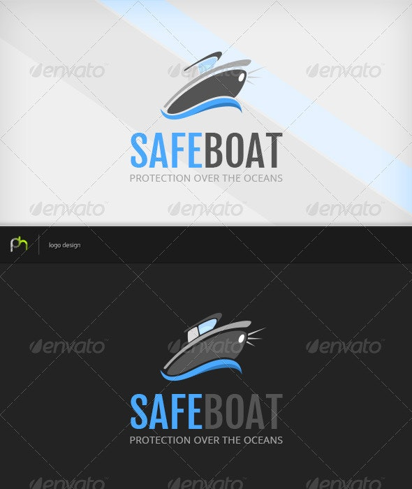 Safeboat Logo - Objects Logo Templates