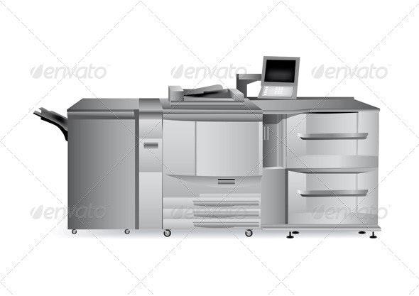Digital Printer - Industries Business