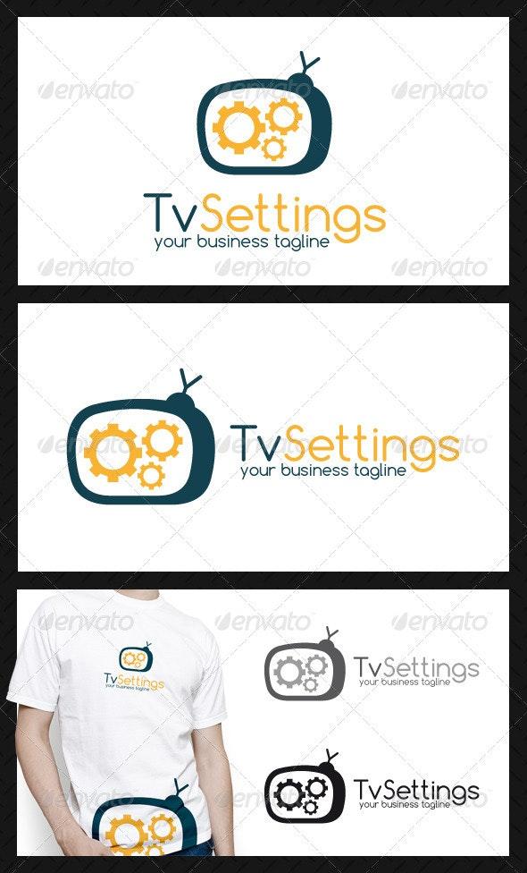 Tv Repair Logo Template - Objects Logo Templates