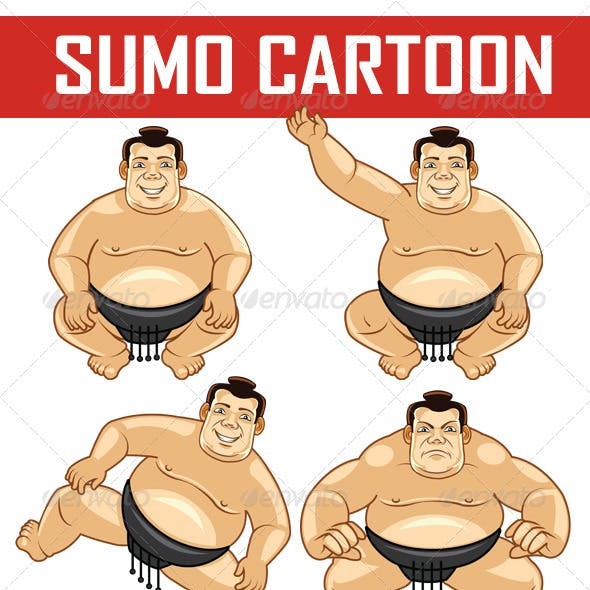 Sumo Cartoon