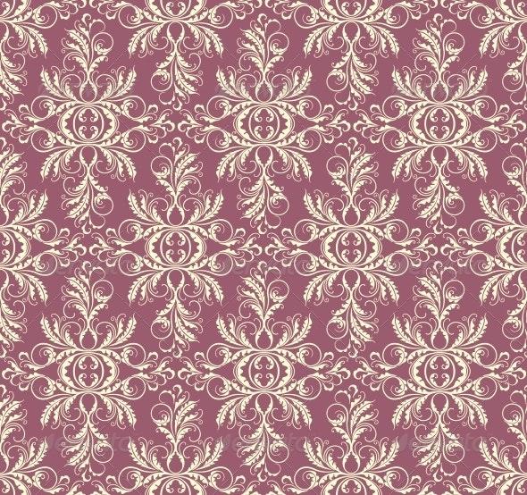 Decorative Floral Seamless Background - Patterns Decorative