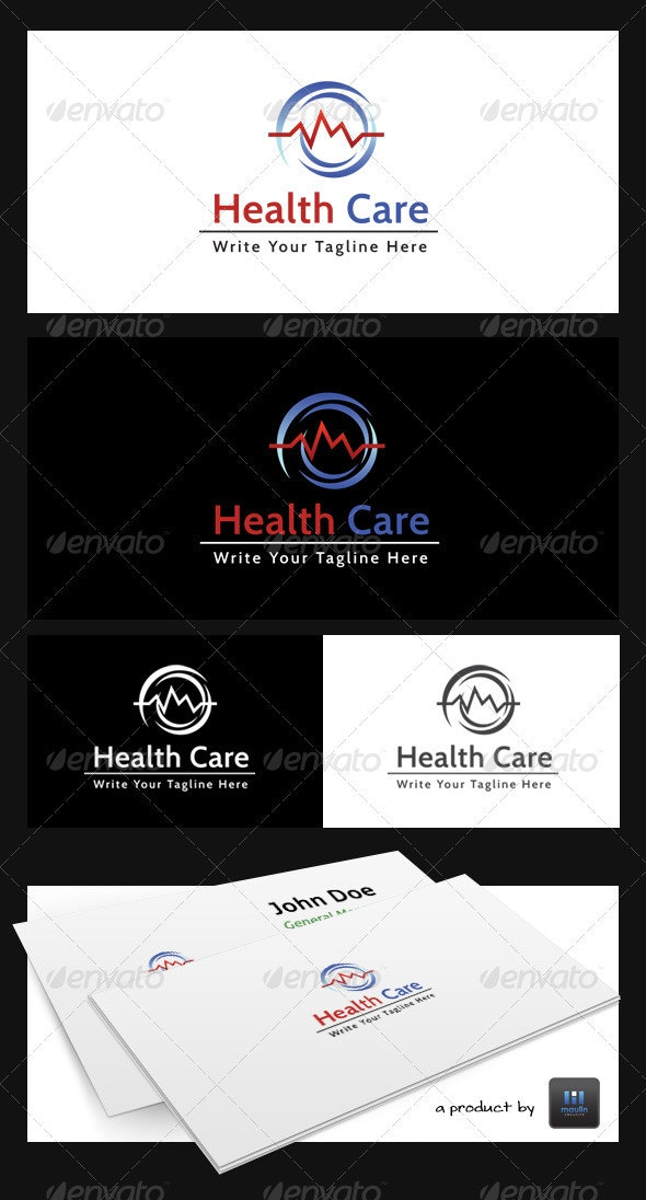 Health Care - Abstract Logo Templates