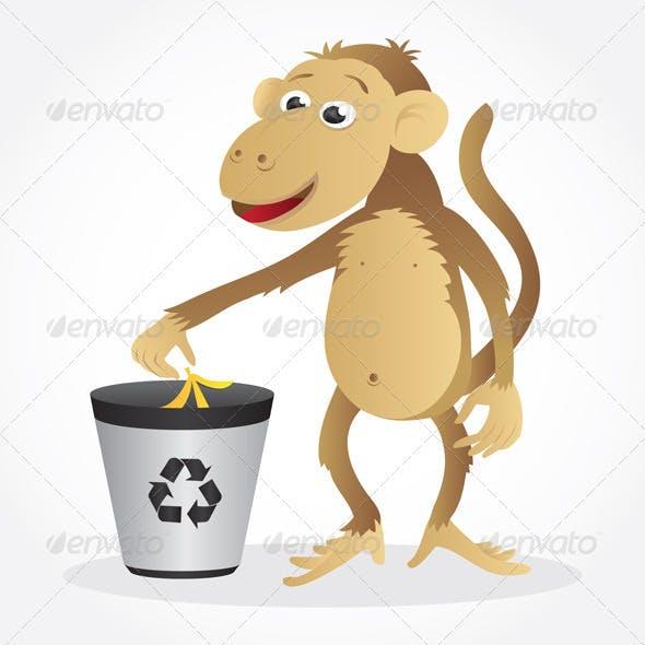 Monkey Recycling