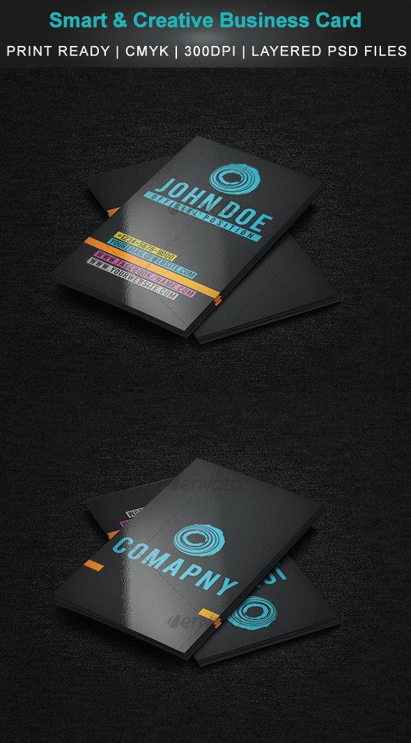 Smart & Creative Business Card - Creative Business Cards