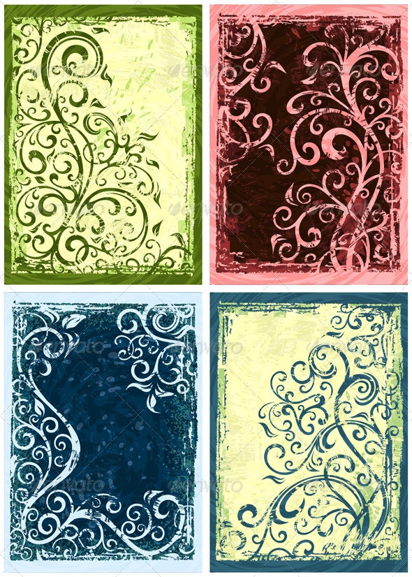 Floral Backgrounds - Backgrounds Decorative