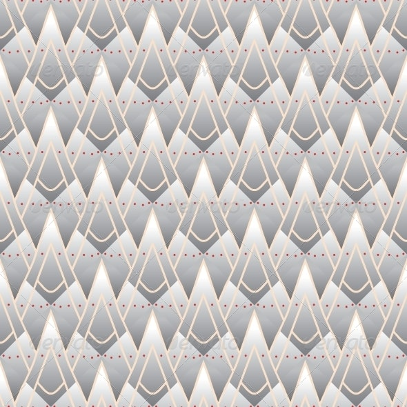 Modern Geometric Pattern with Triangles - Patterns Decorative