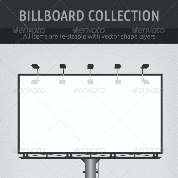 Vector Billboard Collection
