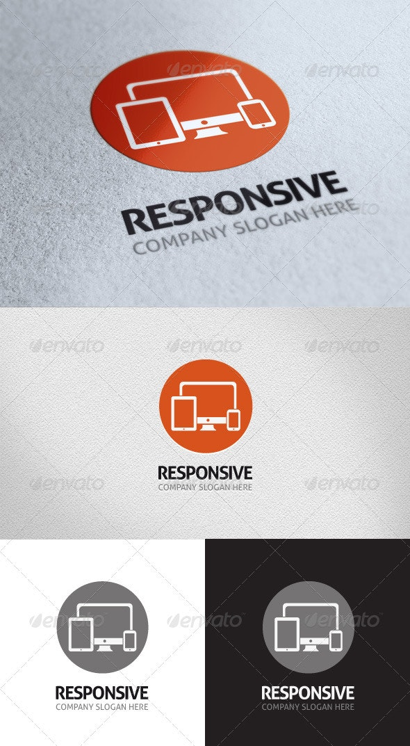 Responsive Logo Template - Objects Logo Templates