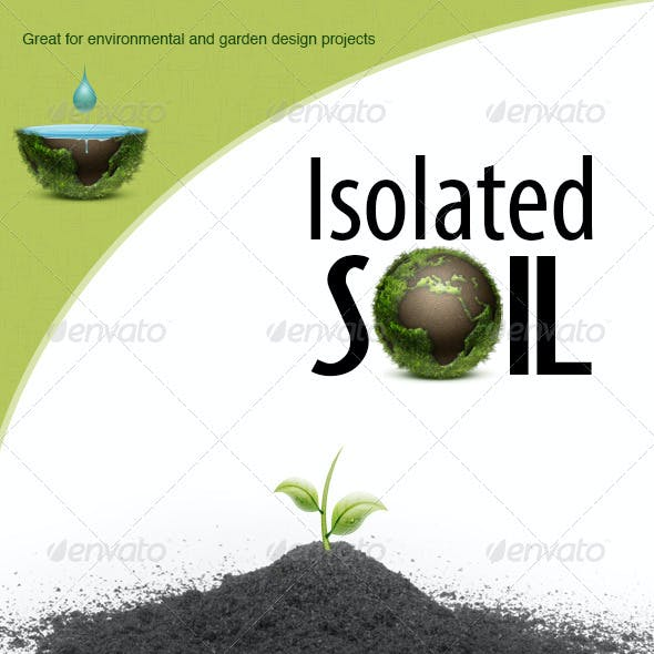 Isolated Soil