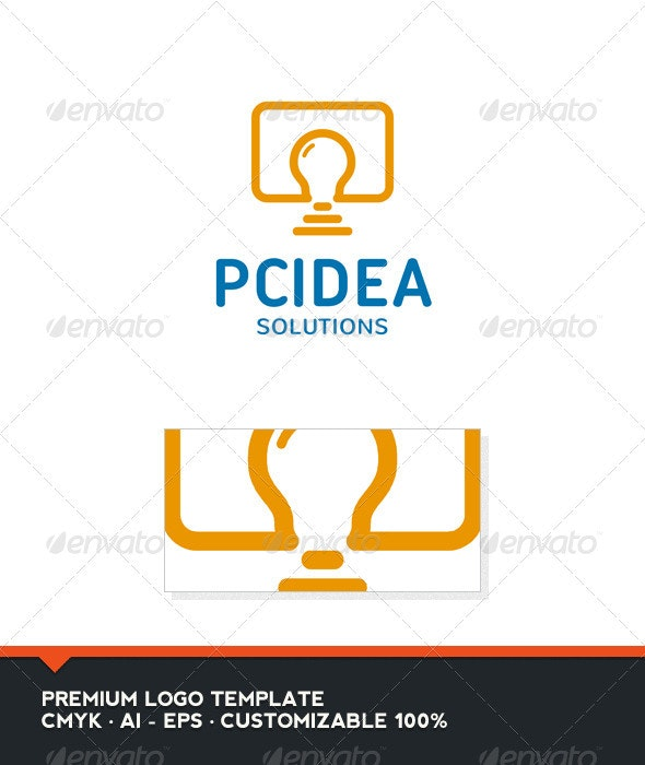 PC Idea Logo Template - Objects Logo Templates