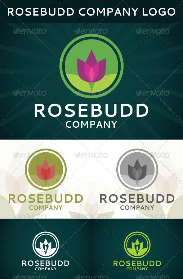 Rosebudd Company Logo - Nature Logo Templates