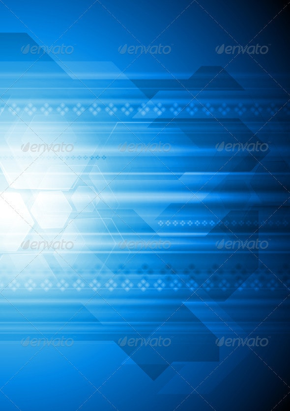 Modern Vector Hi-Tech Backdrop - Backgrounds Decorative