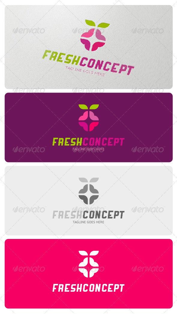 Fresh Concept Logo Template - Food Logo Templates