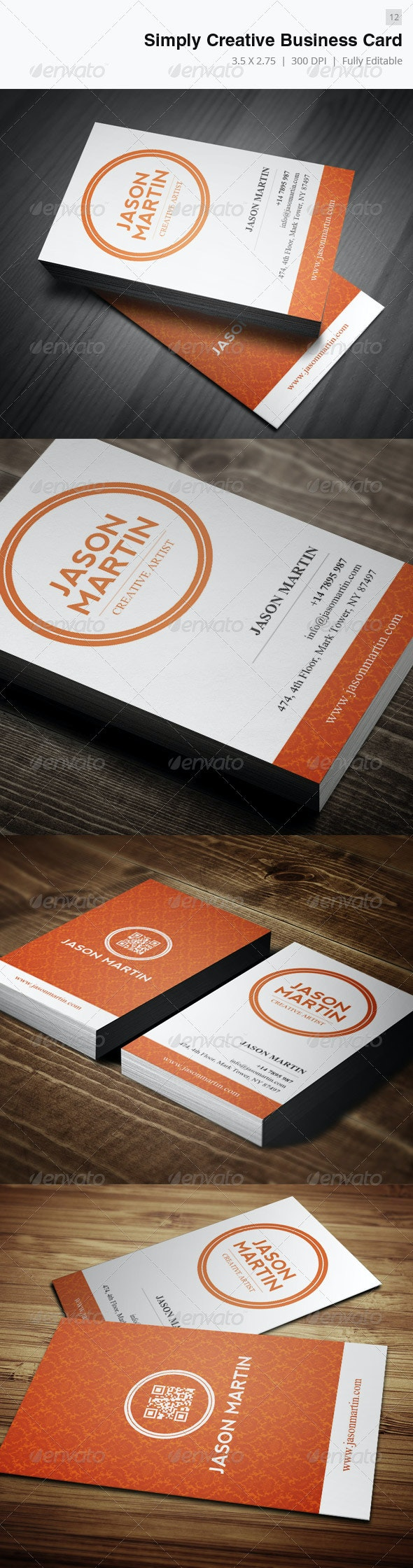 Simply Creative Business Card - 12 - Creative Business Cards