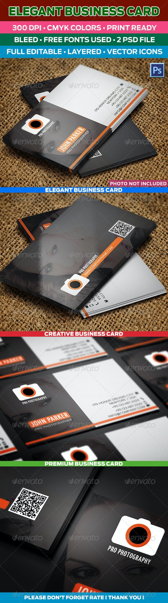 Pro Photographer Business Card 74 - Creative Business Cards