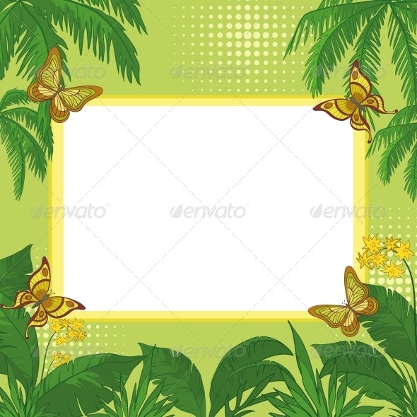 Tropical Background - Backgrounds Decorative