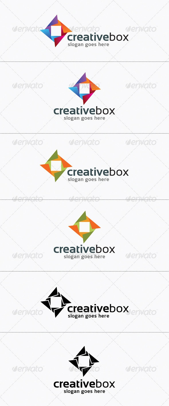 Creative Box Abstract Logo Design - Vector Abstract
