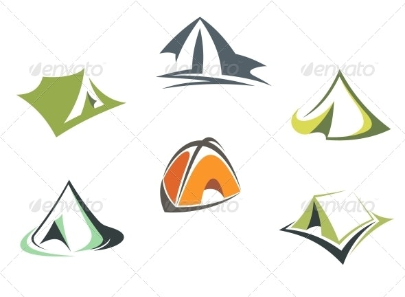 Travel and adventure camp tents - Man-made Objects Objects