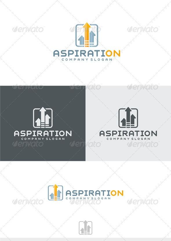 Aspiration Logo - Vector Abstract