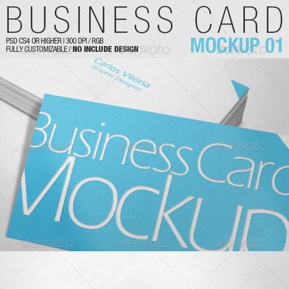 Business Card Mockup 01