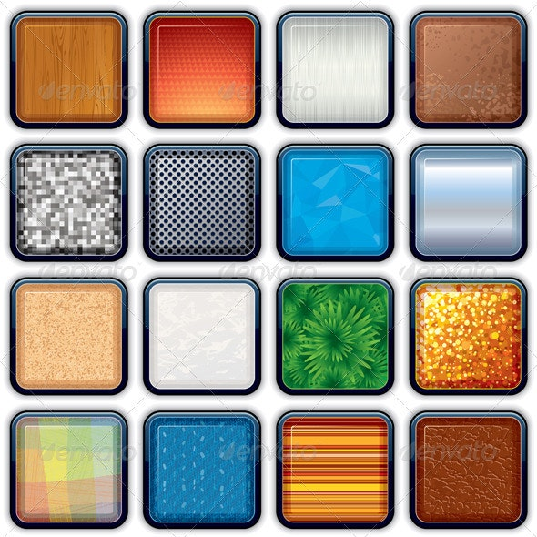 Apps Icons Backgrounds - Backgrounds Decorative