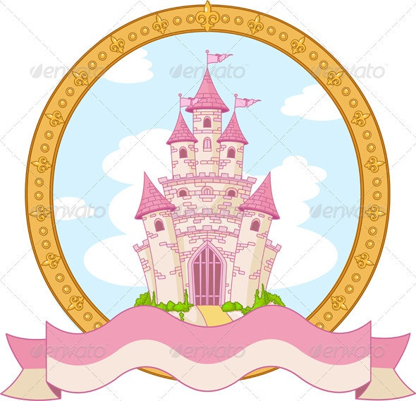 Princess Castle Design - Buildings Objects