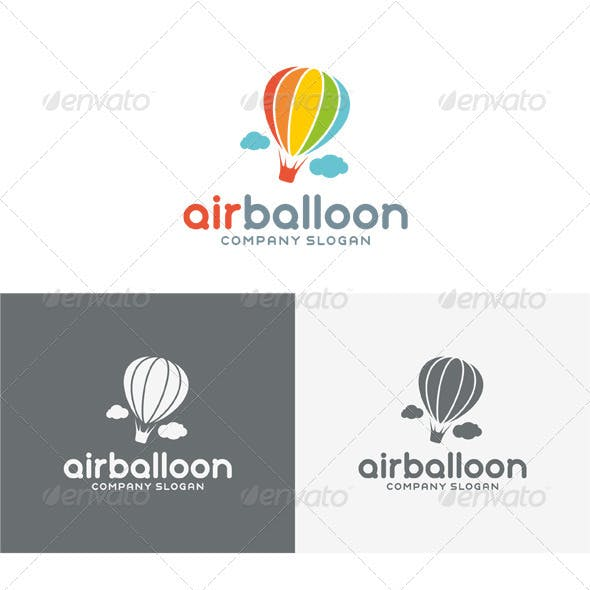 Air Balloon Logo