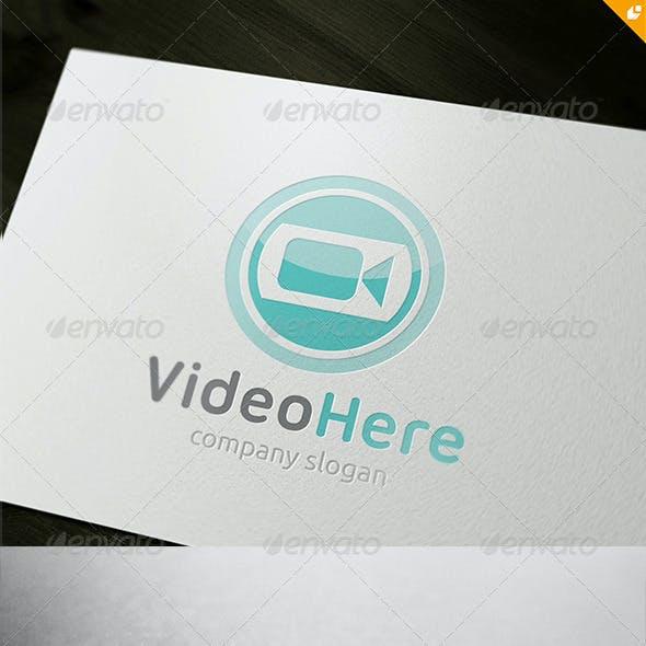 Video Here Logo