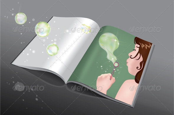 Making Bubbles Book - People Characters