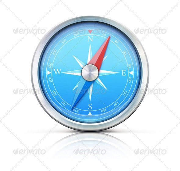 Compass  - Objects Vectors