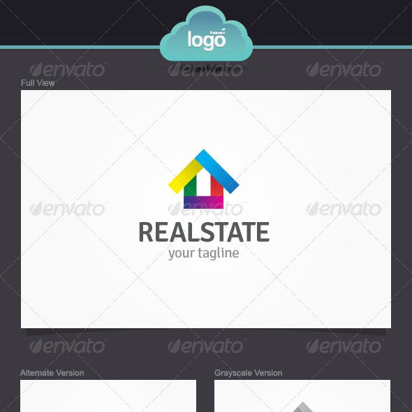 Real State Logo Template