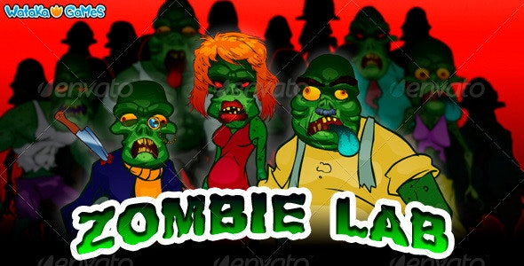 Zombie Lab - Character Creator - Characters Illustrations