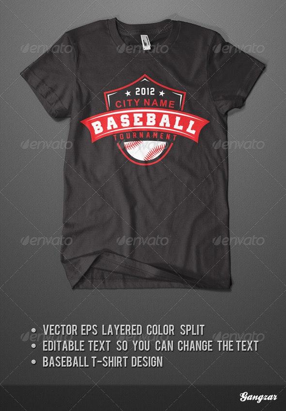 Baseball T-Shirt - Sports & Teams T-Shirts