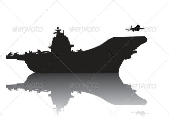 Aircraft carrier - Travel Conceptual