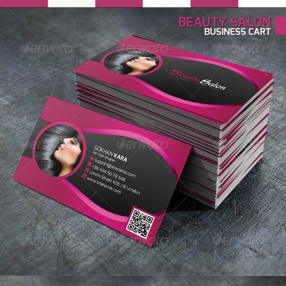 Beauty Salon - Business Card