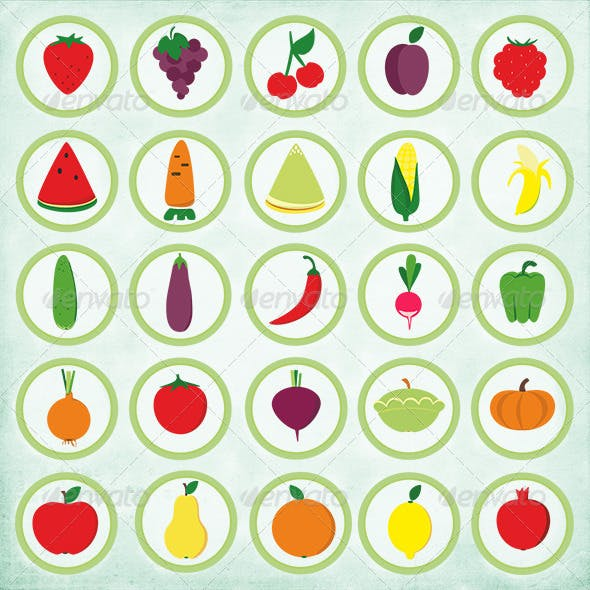 25 Fruits and Vegetables