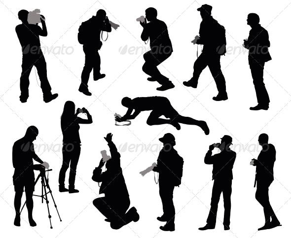 Cameramen Set - People Characters