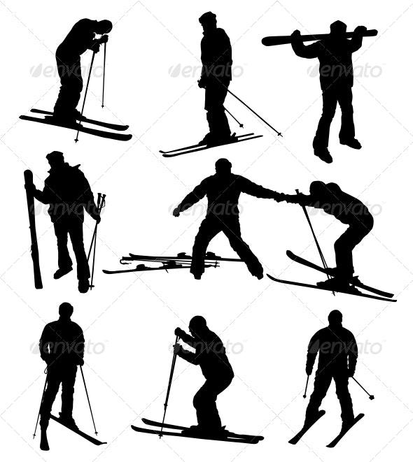 Ski Set - Sports/Activity Conceptual