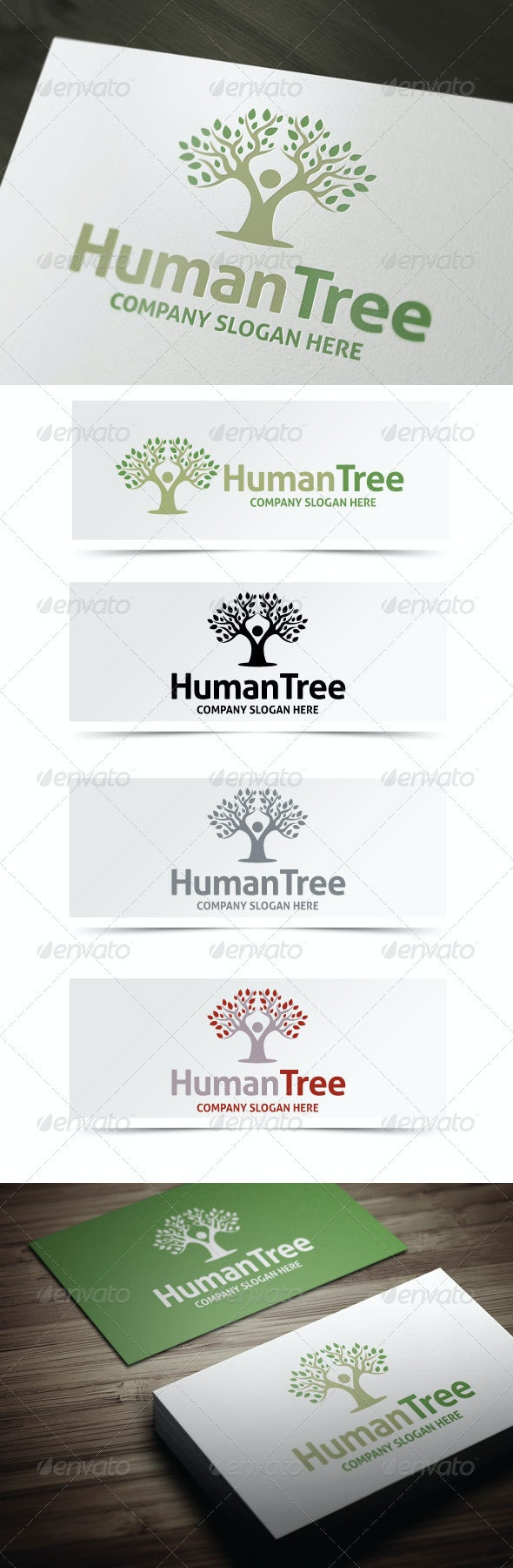 Human Tree Logo - Humans Logo Templates