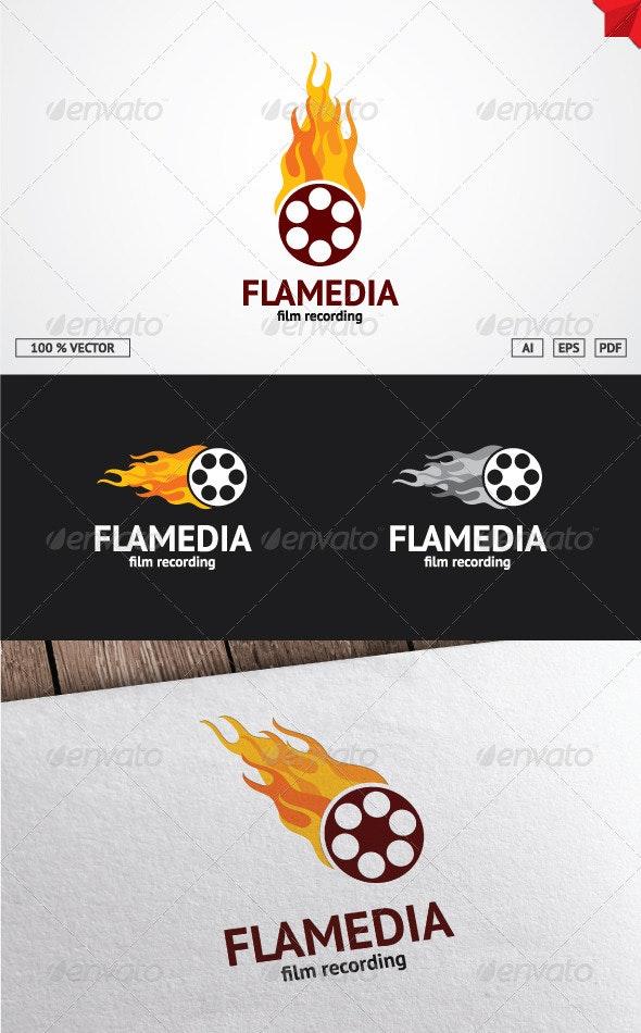 Flame Media Logo - Objects Logo Templates
