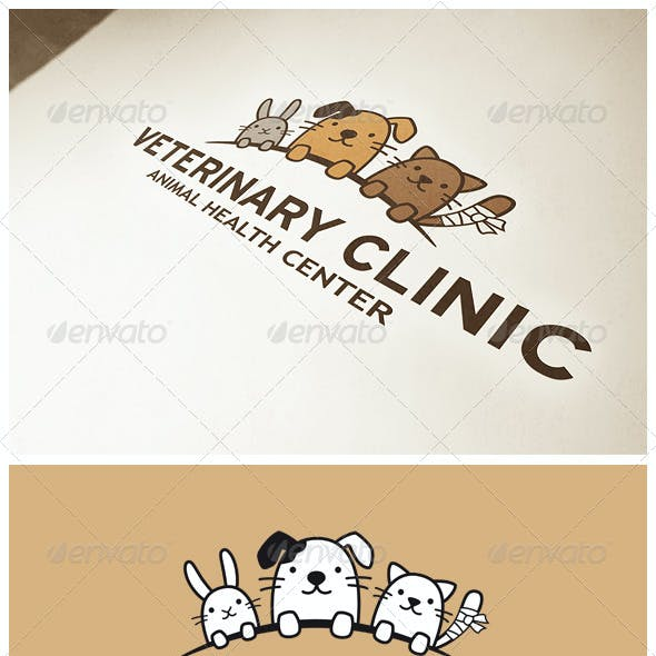 Funny Animals Logo