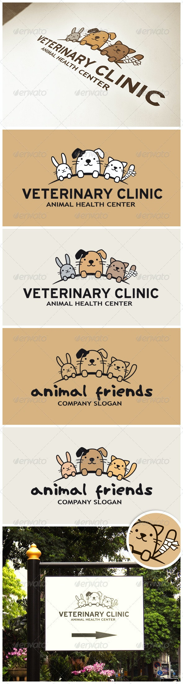 Funny Animals Logo - Animals Logo Templates