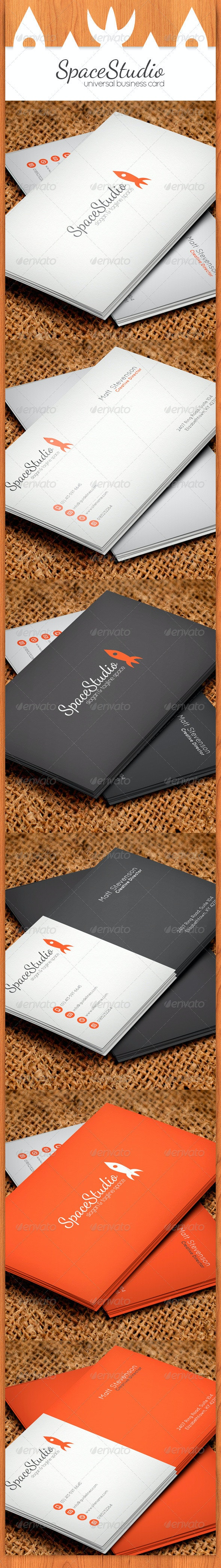 Rocket Business Card - Creative Business Cards