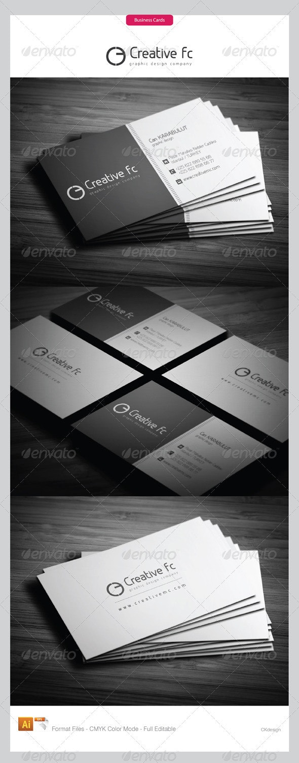 corporate business cards 283 - Creative Business Cards