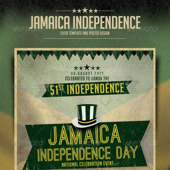 Jamaica Independence Day Flyer